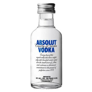 Absolut 80 Proof - 50ML