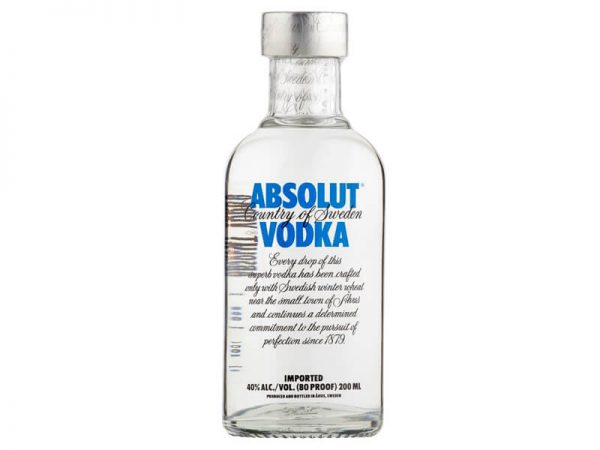 Absolut 80 Proof - 200ML