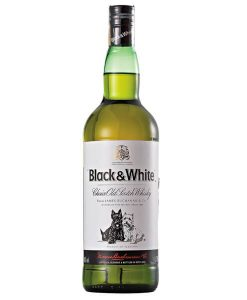 Black & White Whisky - 1LT